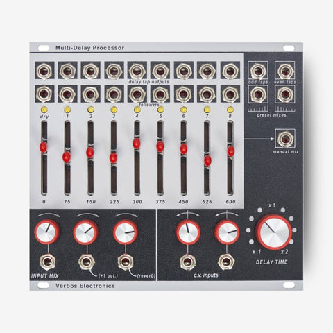 verbos multi-delay processor