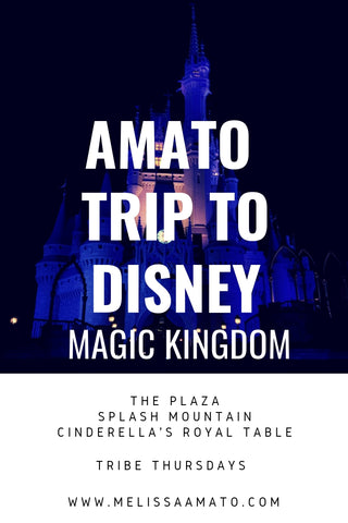 Amato Family Trip to Disney - Magic Kingdom