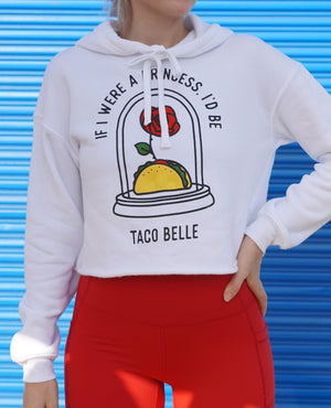 Load image into Gallery viewer, Taco Belle - Cropped Hoodie