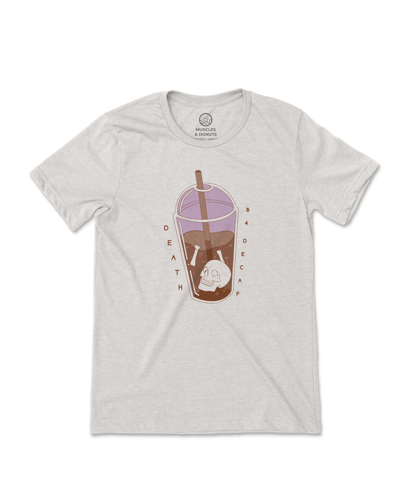 Death B4 Decaf - LIMITED EDITION Triblend Tee