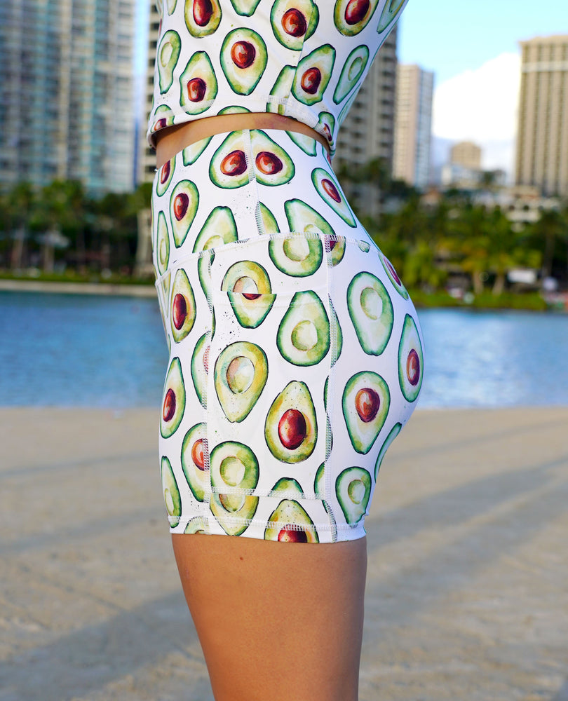 Avocado Pocket Shorts