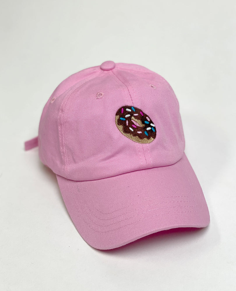 Chocolate Donut Dad Hat