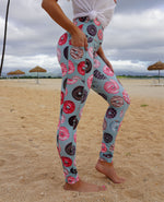 Donut Leggings - Dusty Blue
