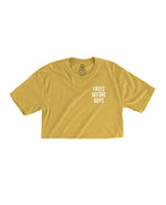 Fries Before Guys - Cropped Tee