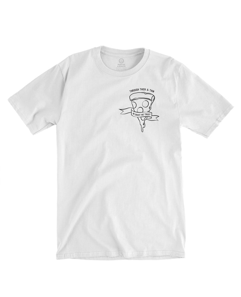 In Crust We Trust - Pocket Tee