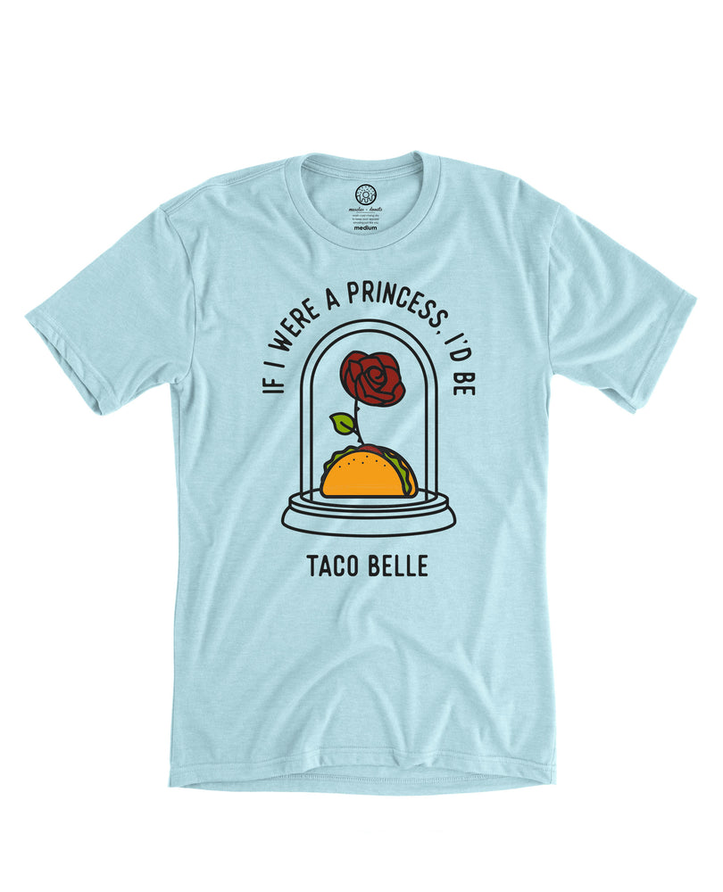 Taco Belle Tee - Ice Blue