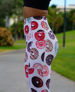 Donut Leggings - White