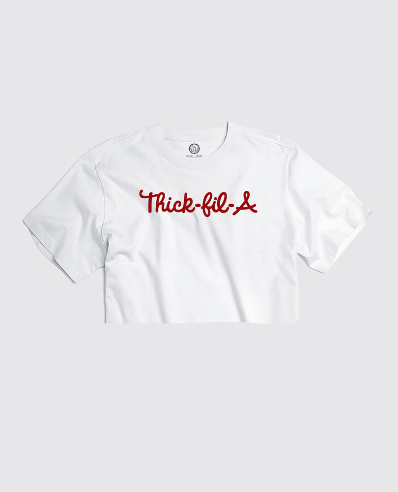 Thick-fil-A - Cropped Tee