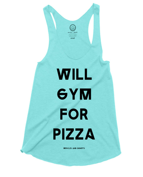 Gym + Pizza | Heck ya!