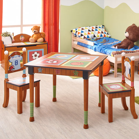 Little Sports Fan - Table and 2 Chairs Set : Fantasy Fields® Official Website