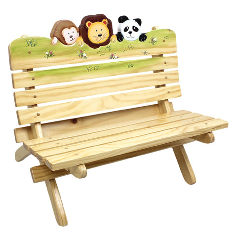 Sunny Safari - Outdoor Bench : Fantasy Fields® Official Website