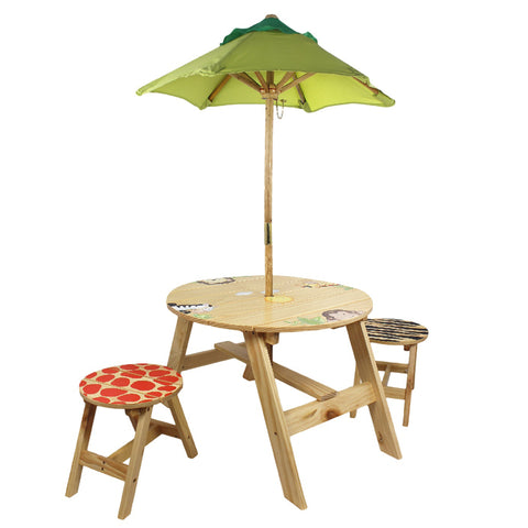 Sunny Safari - Outdoor Table & 2 Chairs Set : Fantasy Fields® Official Website