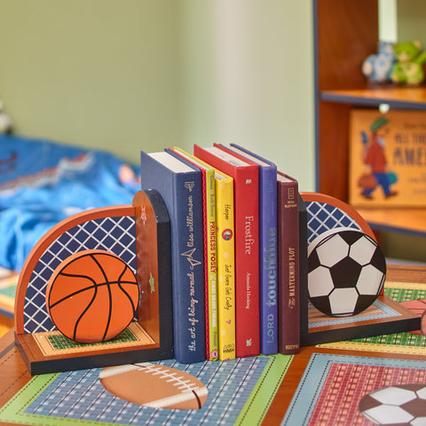 Little Sports Fan - Bookends Set (2 Pieces) : Fantasy Fields® Official Website