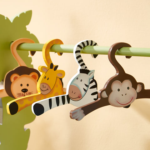 Sunny Safari - Hangers Set (4 Pieces) : Fantasy Fields® Official Website