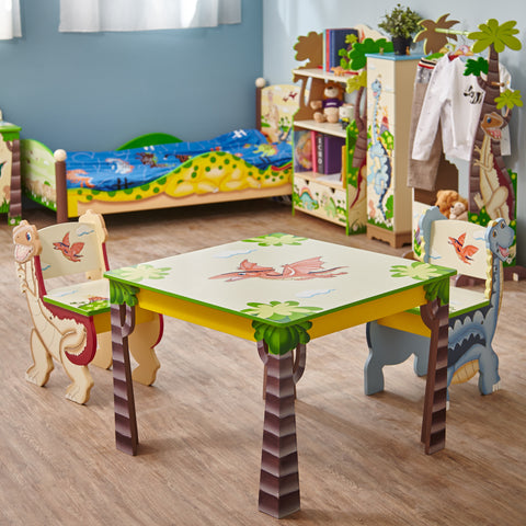 Dinosaur Kingdom - Table and 2 Chairs Set : Fantasy Fields® Official Website