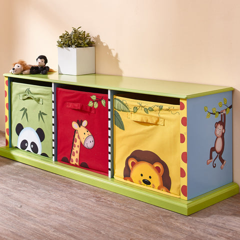 Sunny Safari - 3 Drawer Cubby : Fantasy Fields® Official Website