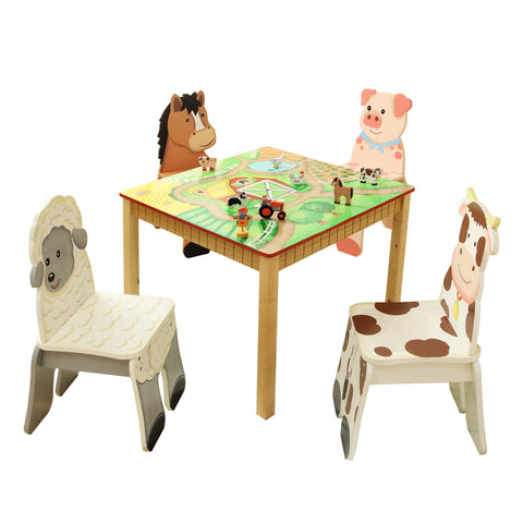 Happy Farm - Table and 4 Chairs Set : Fantasy Fields® Official Website