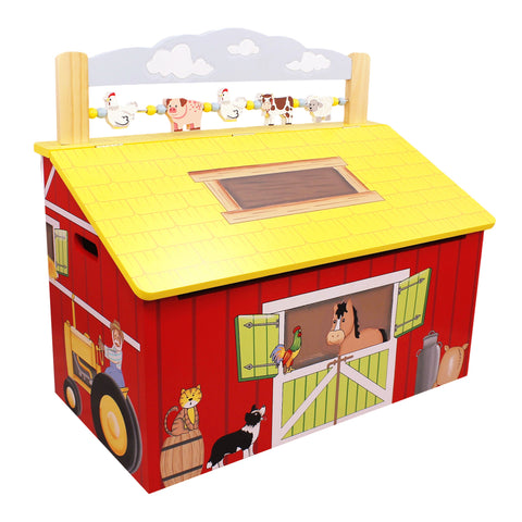 Happy Farm - Toy Chest with Safety Hinges : Fantasy Fields® Official Website