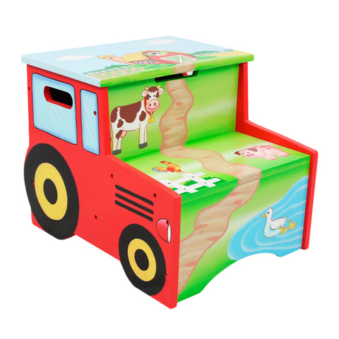 Happy Farm - Step Stool with Storage : Fantasy Fields® Official Website