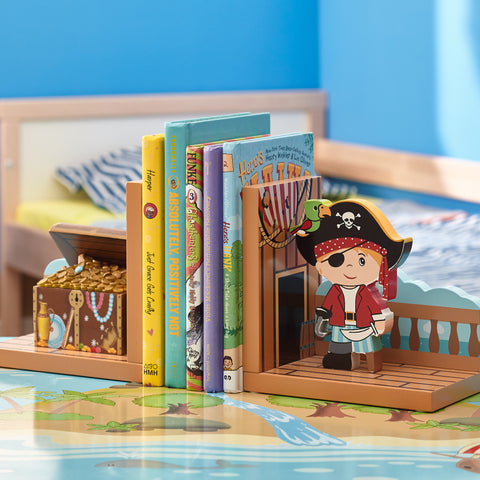 Pirate Island - Bookends Set (2 Pieces) : Fantasy Fields® Official Website