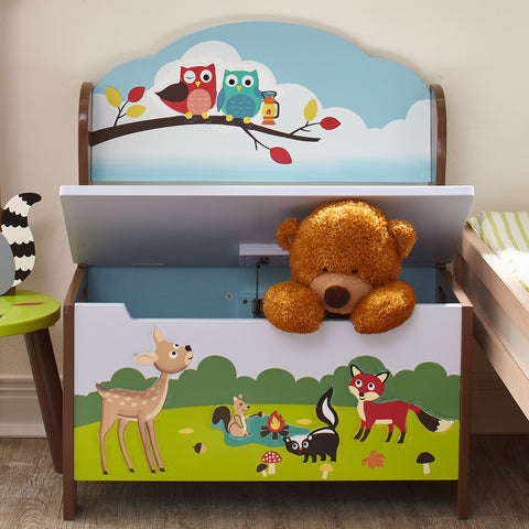Enchanted Woodland - Storage Bench : Fantasy Fields® Official Website