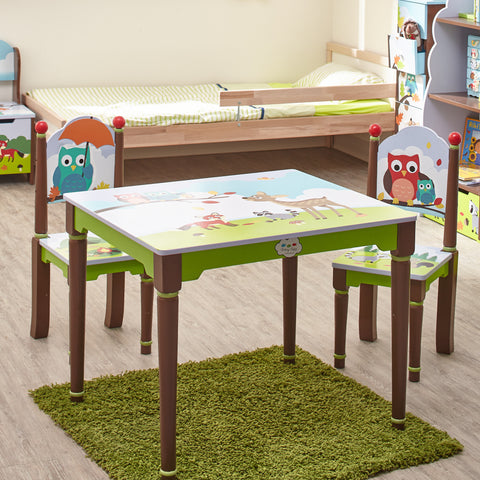Enchanted Woodland - Table and 2 Chairs Set : Fantasy Fields® Official Website