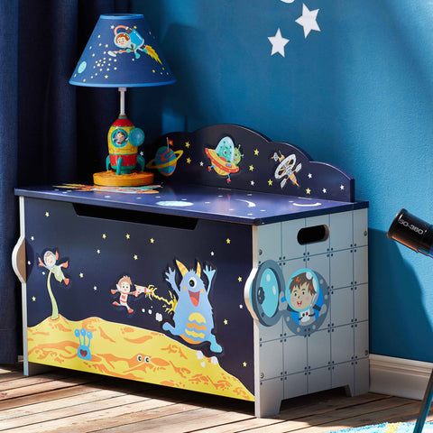 Outer Space - Toy Chest with Safety Hinges : Fantasy Fields® Official Website
