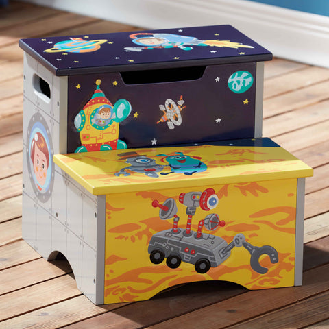 Outer Space - Step Stool with Storage : Fantasy Fields® Official Website