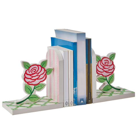 Crackled Rose - Bookends Set (2 Pieces) : Fantasy Fields® Official Website