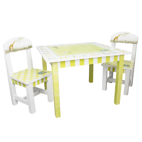 Alphabet - Table and 2 Chairs Set : Fantasy Fields® Official Website
