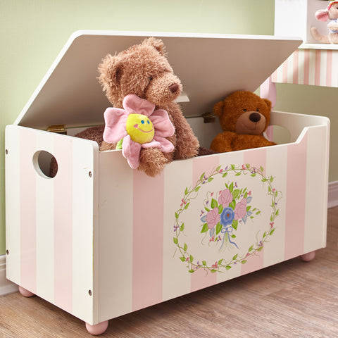 Bouquet - Toy Chest with Safety Hinges : Fantasy Fields® Official Website