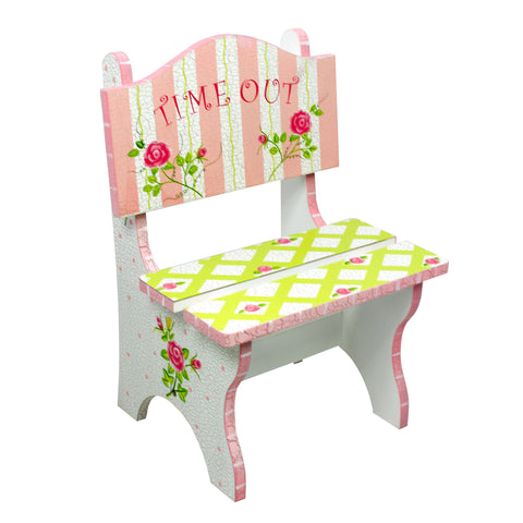 Crackled Rose - Time Out Chair : Fantasy Fields® Official Website