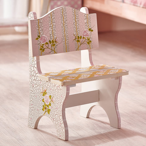 Crackled Rose - Mini Chair : Fantasy Fields® Official Website