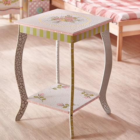 Crackled Rose - End Table : Fantasy Fields® Official Website