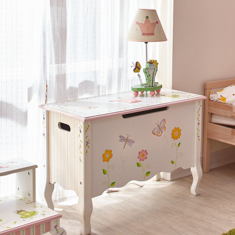 Princess & Frog - Toy Chest with Safety Hinges : Fantasy Fields® Official Website