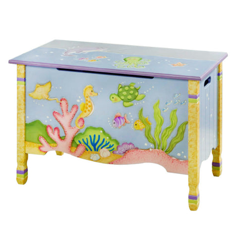 Under the Sea - Toy Chest with Safety Hinges : Fantasy Fields® Official Website