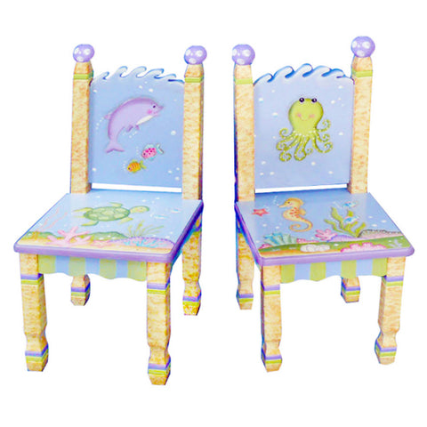 Under The Sea - 2 Chairs Set : Fantasy Fields® Official Website