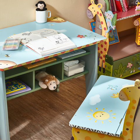 Sunny Safari - Desk with Storage : Fantasy Fields® Official Website