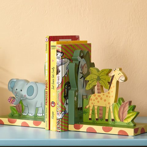 Sunny Safari - Bookends Set (2 Pieces) : Fantasy Fields® Official Website
