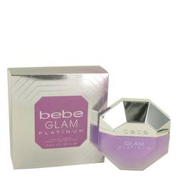 Bebe Glam Platinum Eau De Parfum Spray By Bebe