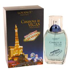 Casanova In Vegas Eau De Toilette Spray By Lovance
