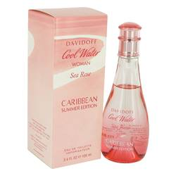 Cool Water Sea Rose Caribbean Summer Eau De Toilette Spray By Davidoff