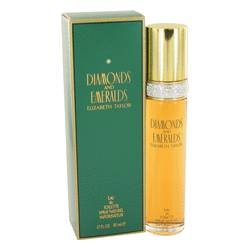 Diamonds & Emeralds Eau De Toilette Spray By Elizabeth Taylor