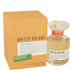 United Dreams Stay Positive Eau De Toilette Spray By Benetton