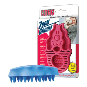 KONG ZoomGroom Dog Brush