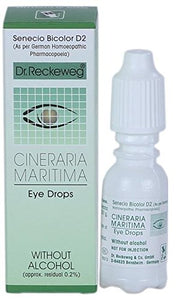 DR. RECKEWEG CINERARIA MARITIMA CATARACT EYE DROPS