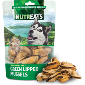 Nutreats Freeze Dried New Zealand Green Lipped Mussels