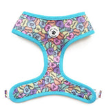 Rainbow Splash Reversible Dog Harness