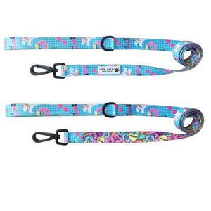 Rainbow Splash Dog Lead