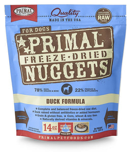 Primal Canine Duck Formula (Freeze Dried)